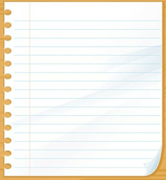 lined paper that you can type on Simply download and print this lined notebook paper with horizontal writing lines and a vertical red line for a left margin.